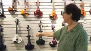 Electric Violin Shop tour