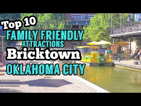 Top 10 Family Friendly Things to do in Bricktown 2020 | Oklahoma City