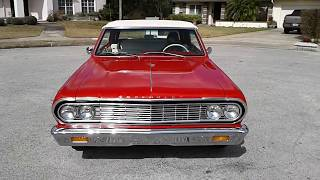 """Speck Classic Cars"" presents a 1964 Chevelle Malibu SS"