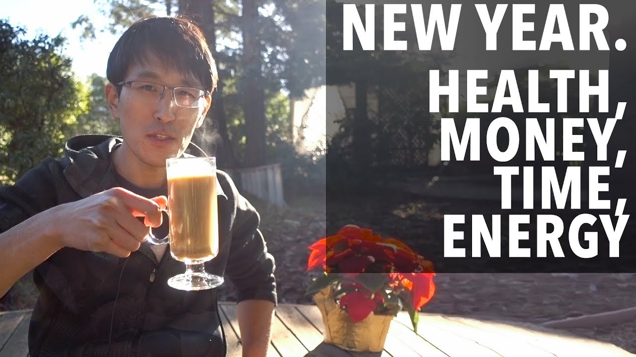 Tips for your New Year's resolutions - health, money, time, energy