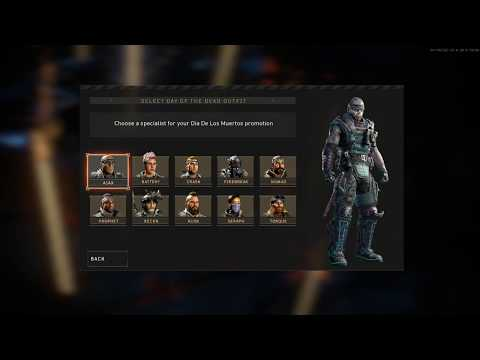 Call of Duty: Black Ops 4   How to change specialist outfit