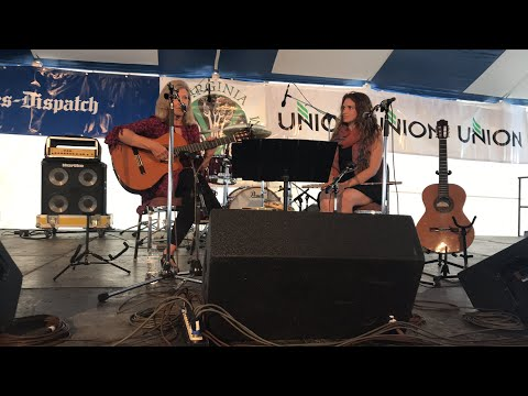 Susan Gates & Gina Sobel Live at the 2017 Richmond Folk Festival