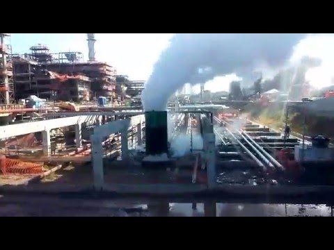 20140720 Steam Blowing Commissioning   Pipeline B