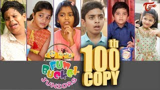 Fun Bucket JUNIORS | Episode 100 | Kids Funny Videos | Comedy Web Series | By Nagendra K | TeluguOne