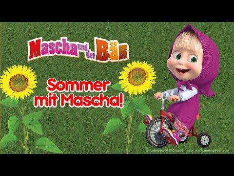 Mascha und der Bär - ☀️ Sommer mit Mascha! 🌻 Beste Sommer Cartoons Kompilation für Kinder