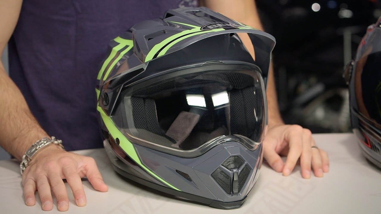 Bell Mx 9 Adventure Helmet Review At Revzilla Com Youtube