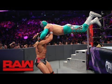 Sin Cara & Lince Dorado vs. Tony Nese & Drew Gulak: Raw, Oct. 10, 2016