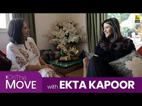 On The Move with Ekta Kapoor | Mona Singh, Ronit Roy | Anupama Chopra | Film Companion