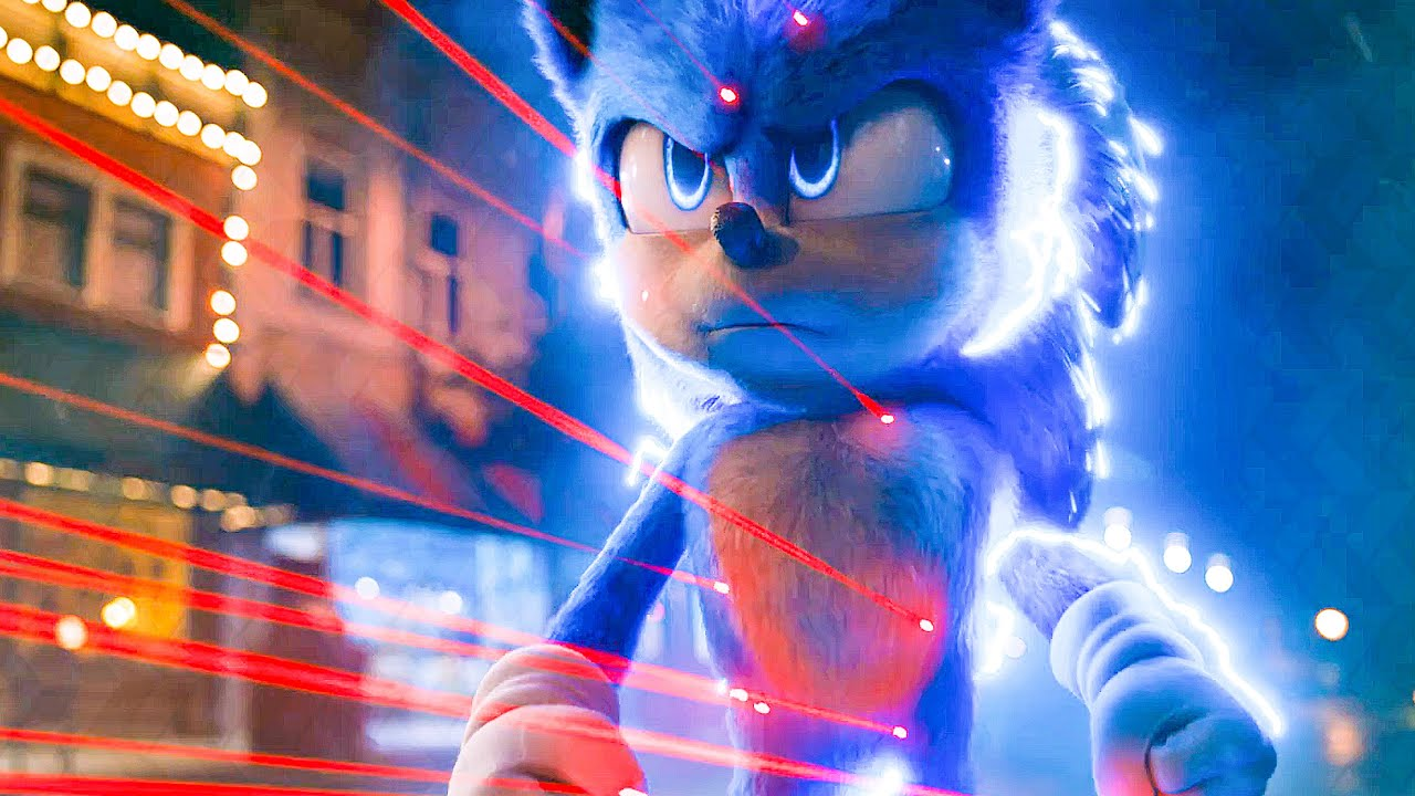 Sonic Vs Doctor Robotnik Sonic The Hedgehog Super Bowl Trailer 2020 Youtube