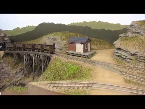 HOn30 mining layout