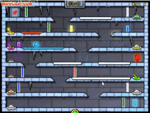 Miniclip Ice Temple Fireboy Amp Watergirl Level 21 Guide