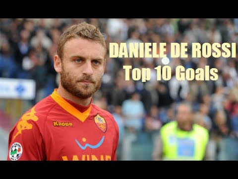 DANIELE DE ROSSI / AS ROMA - Top 10 Goals