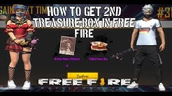 HOW TO GET 2ND TREASURE BOX  FREE FIRE || BAADSHAH GAMING