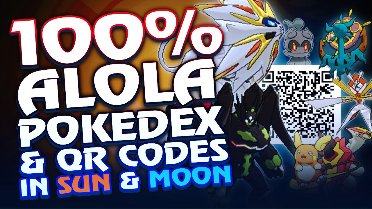 😝 Pokemon ultra moon shiny charm qr code | Unlock All
