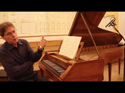 Robert Levin plays Mozart on Mozart's piano