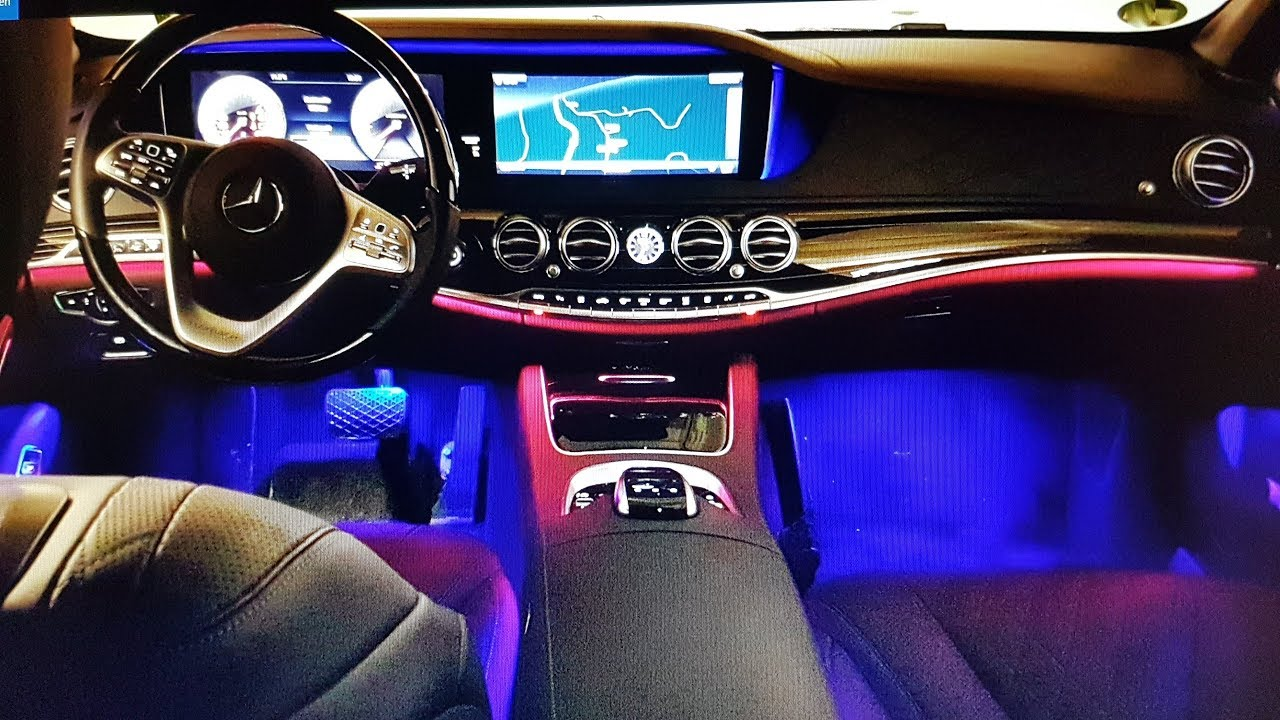 mercedes maybach 650 ambientebeleuchtung v12 interior. Black Bedroom Furniture Sets. Home Design Ideas