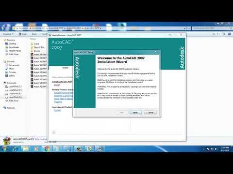 Installing AutoCAD 2007 On Windows 7, Windows 8 And Windows 10