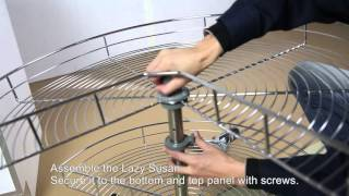 Base Lazy Susan Cabinet Assembly Guide (BLS36--TR270B)