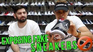 Exposing Fake Sneakers Game!! (A Sneaker Life)