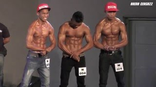 Top 10 & Result New Muscle - Urban Warriors 2016