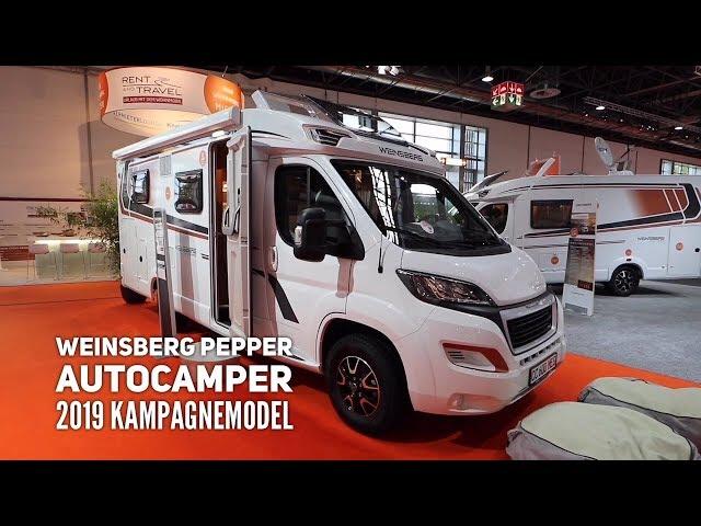 Weinsberg Pepper - kampagnevogn 2019