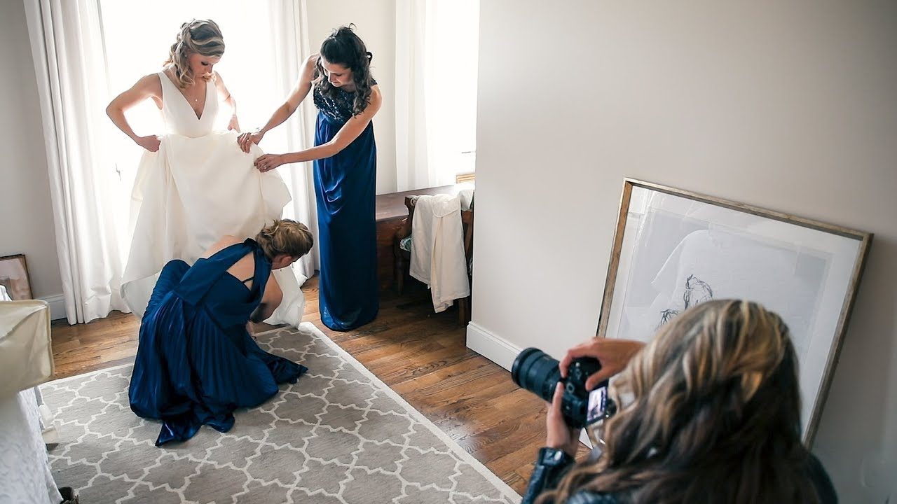 Wedding Scenes Photography: Wedding Photography Behind The Scenes With The Sony A7III