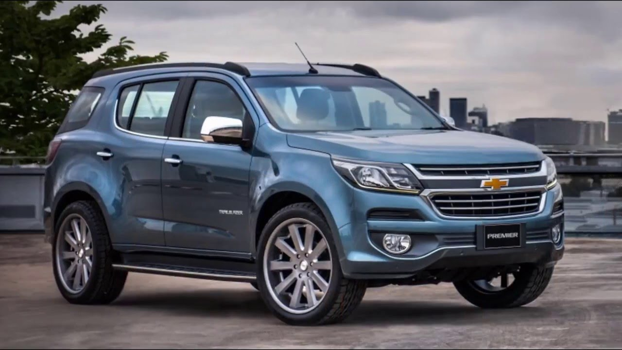 2016 Chevy Trailblazer >> Chevrolet Trailblazer 2016 Youtube