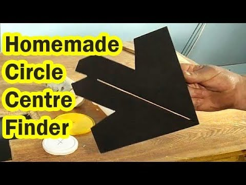 Homemade Circle Centre Finder