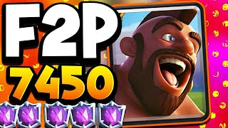 F2P PLAYER GETS 7,500 TROPHIES!?! INSANE!!!