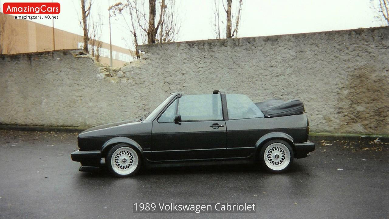 1989 volkswagen cabriolet youtube rh youtube com VW Mk1 Cabriolet 1989 vw cabriolet owners manual