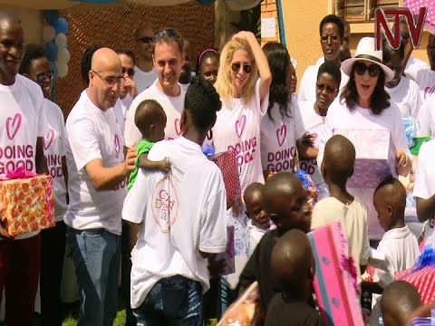 Kawempe cancer centre and orphanage receive donations from Israeli firm