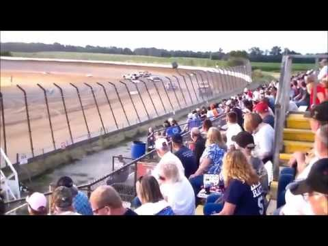 Weiner Racing at Clay County Speedway Heat Race 7-5-14