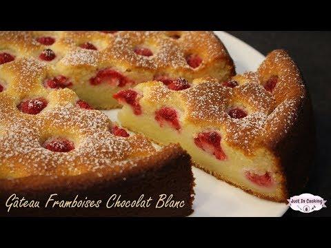 recette-de-gâteau-moelleux-framboises-chocolat-blanc