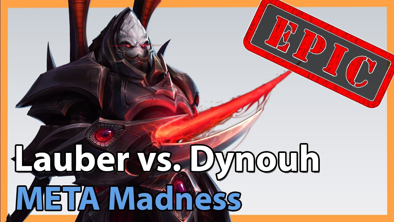 Lauber vs. Dynouh - META Madness - Heroes of the Storm Tournament