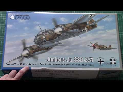 Special Hobby 1/48 Ju 88D-2/4 (SH48178) Review