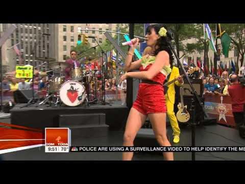 Katy Perry  Hot N Cold  on Today Show 2008 HD
