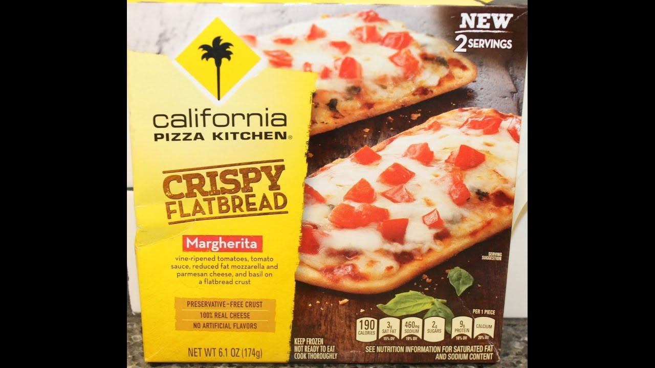 California Pizza Kitchen Frozen Pizza Instructions california pizza kitchen crispy flatbread: margherita pizza review