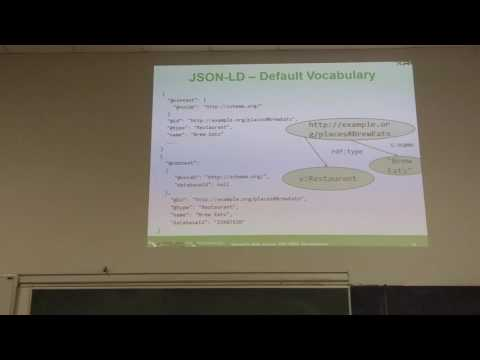 MI-SWE.16 - Přednáška 10 - JSON-LD, Relational Database Wrappers (R2RML)