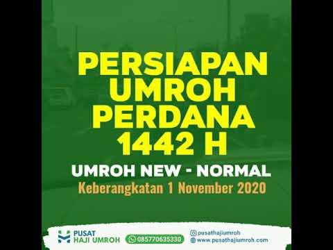 UMROH DIBUKA BERTAHAP:  JAMAAH  INDONESIA BERANGKAT MULAI 1 JANUARI 2021?.