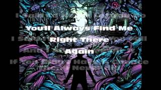 A Day To Remember- Have Faith In Me (LYRICS)