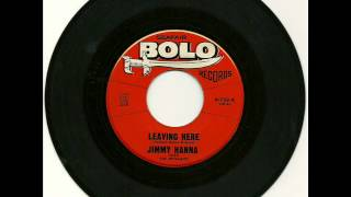Jimmy Hanna & The Dynamics - Leaving Here  1964