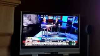 Richard Del Monte, President of Del Monte Group LLC, with Melissa Frances. FOXBusiness news.