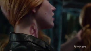 Shadowhunters 1x01 Clip - Jace explains Clary what the runes are for HD