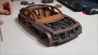 Постройка Модели Автомобиля Из Пластилина 8. Салон (3 Часть)