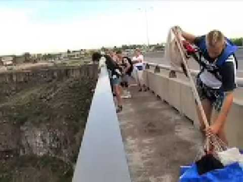 Exit Point 8 - Base-jumping in from Perrine Bridge