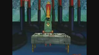 Spongebob sings: Baha men / Who let the dogs out