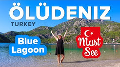 BEST BEACH in TURKEY 🇹🇷 Blue Lagoon in OLUDENIZ is Pure Paradise. South of Turkey Travel Guide 🗺