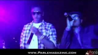 Fabolous performs at Def Jam exec