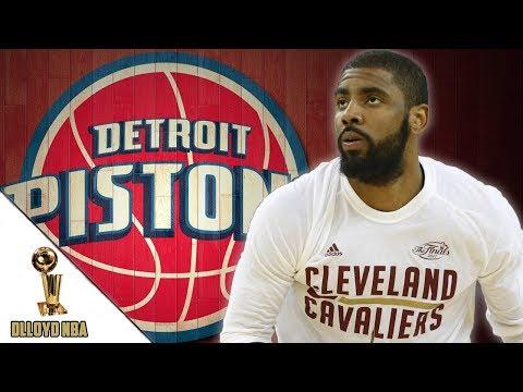 Detroit Pistons Involved In Trade Talks For Kyrie Irving!!! | NBA News