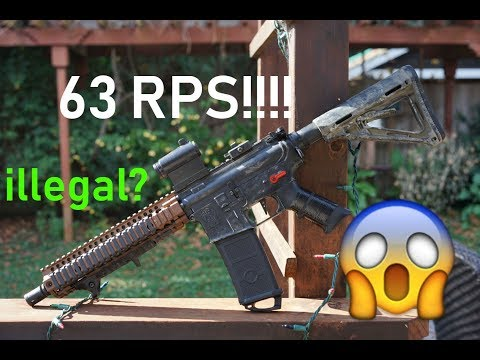 Insane 63 rps DSG! Is this even legal? Better than umbrella armory?